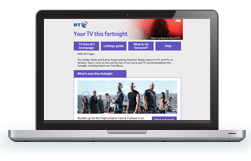 BT TV Newsletter