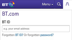 Bt email login